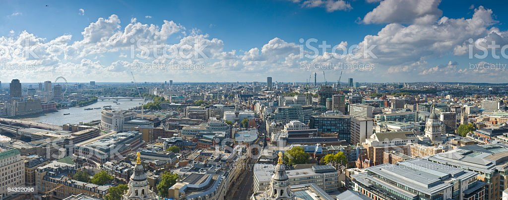 Cityscape, London stock photo