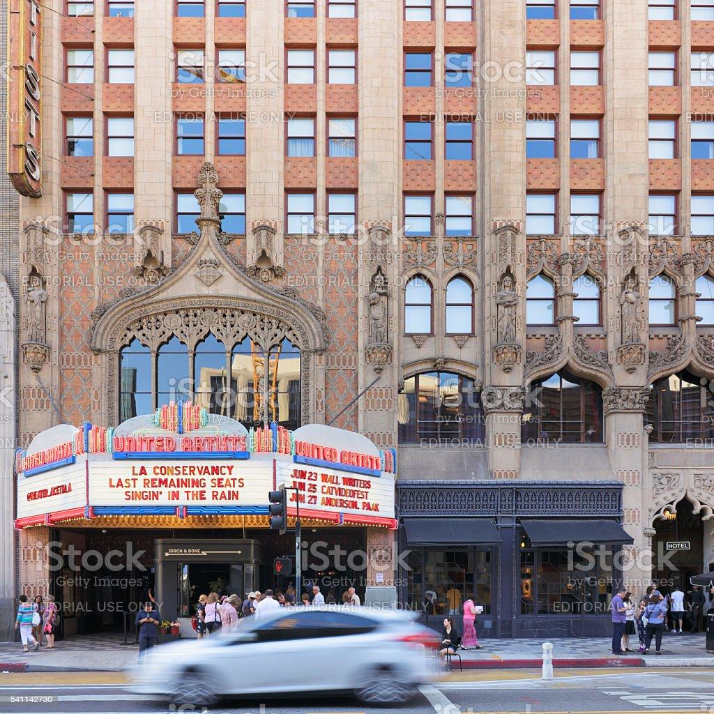 Cityscape - Los Angeles stock photo