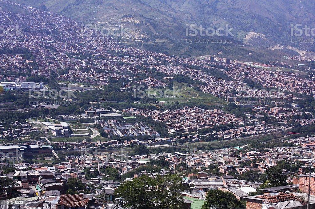 Cityscape Medellin. royalty-free stock photo
