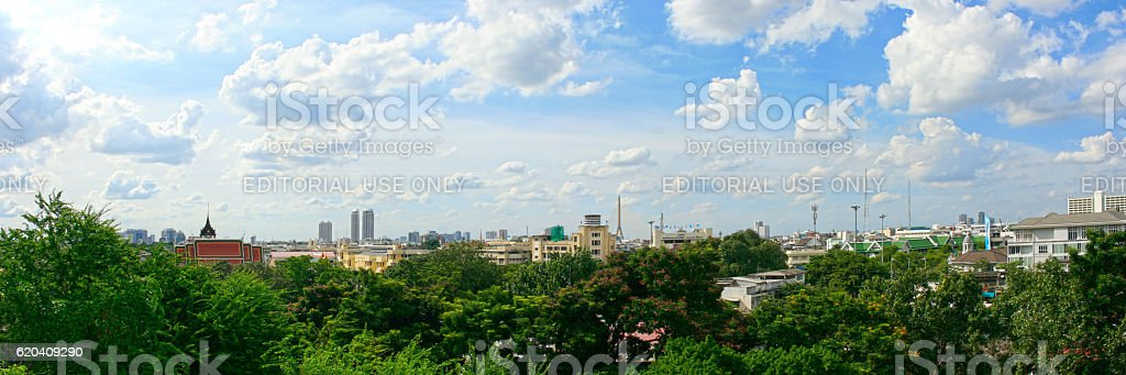 Cityscape of Bangkok stock photo