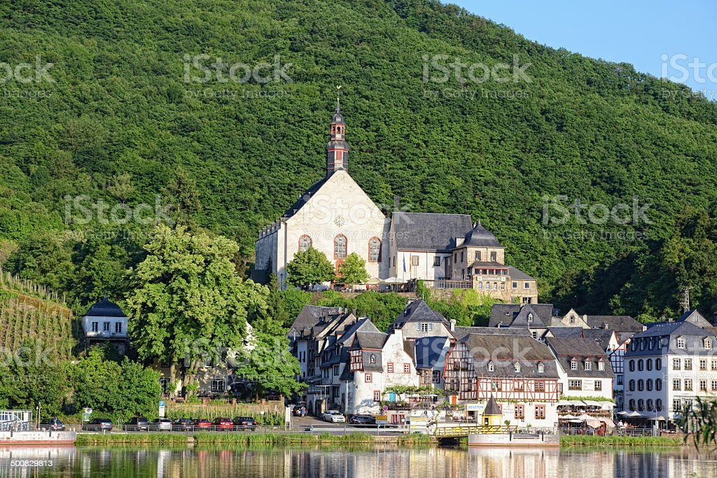Cityscape of Beilstein (Mosel Valley) stock photo