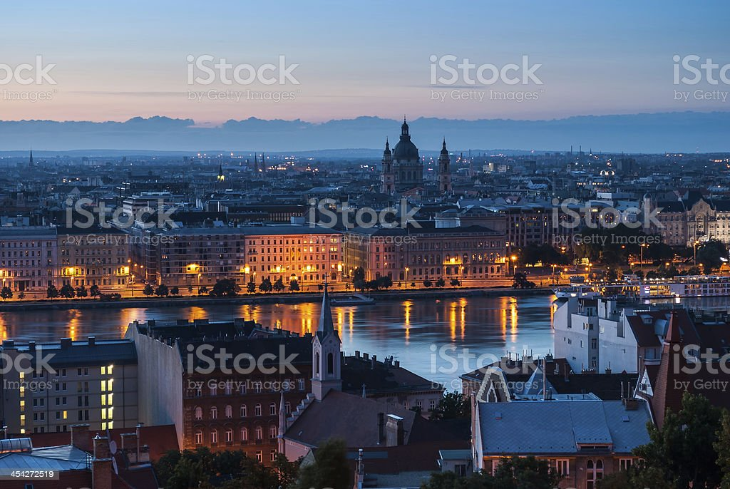 Cityscape of Budapest royalty-free stock photo