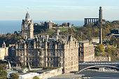 Cityscape of Edinburgh