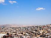 Cityscape of Fez in Morocco