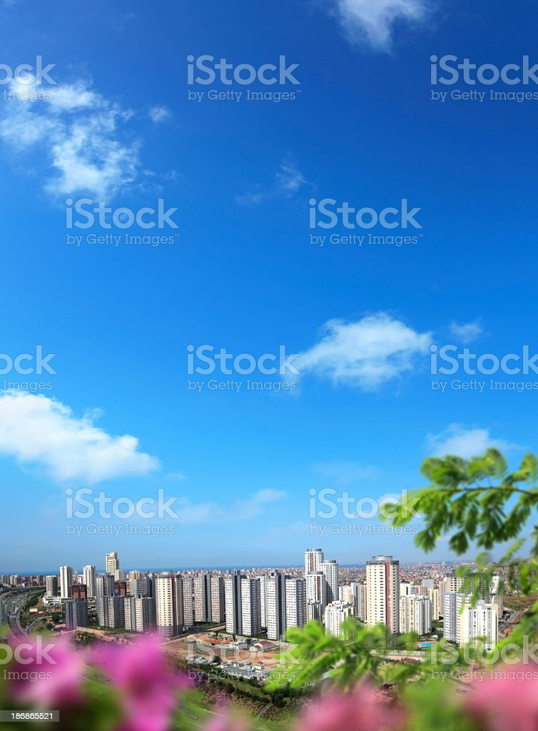 cityscape of istanbul royalty-free stock photo