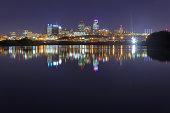 Cityscape of Kansas City, Missouri
