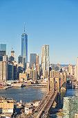 Cityscape of Lower Manhattan