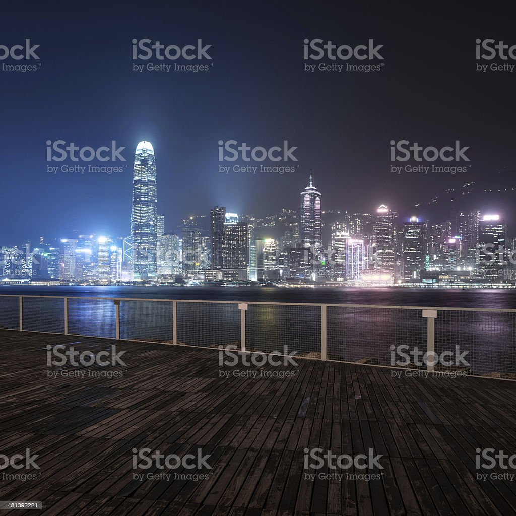 cityscape of modern city stock photo