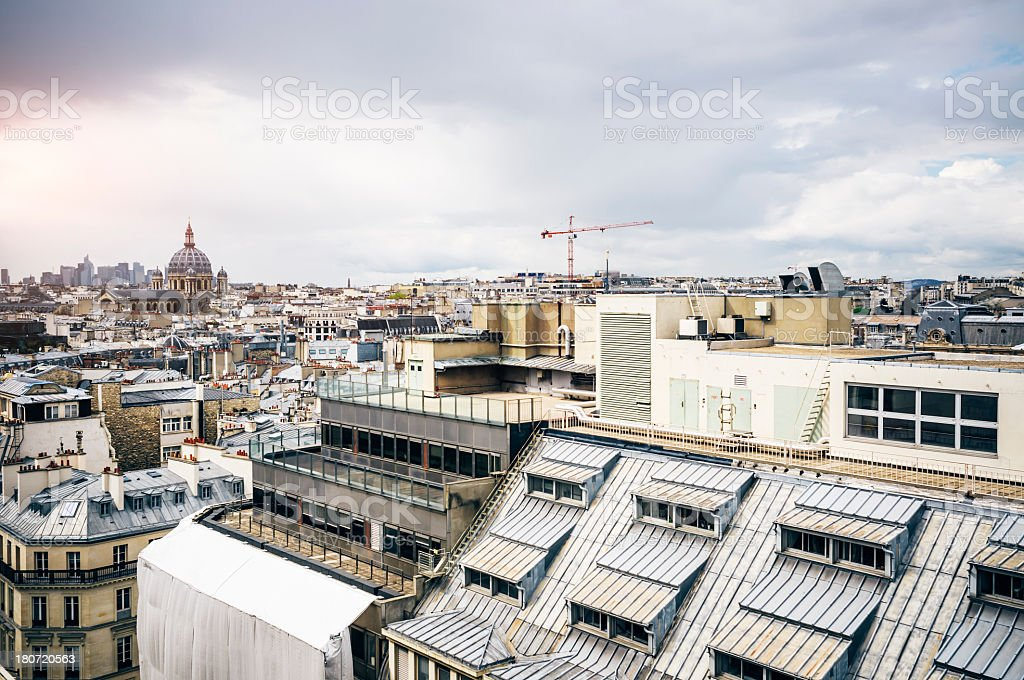 Cityscape of Paris royalty-free stock photo