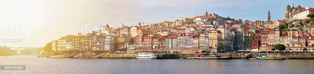 Cityscape of Porto, Portugal stock photo