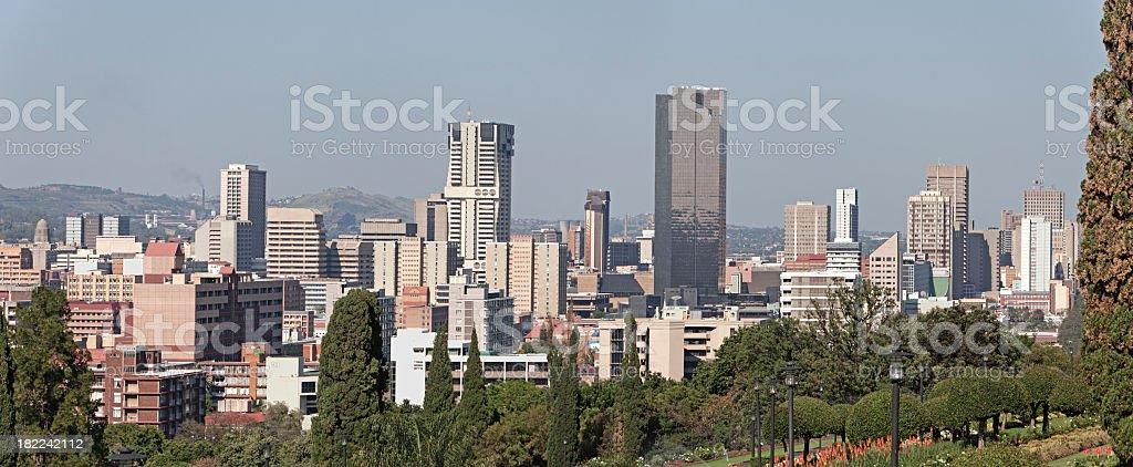 Cityscape of Pretoria / Tswane stock photo