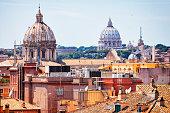 Cityscape of Rome, Italy