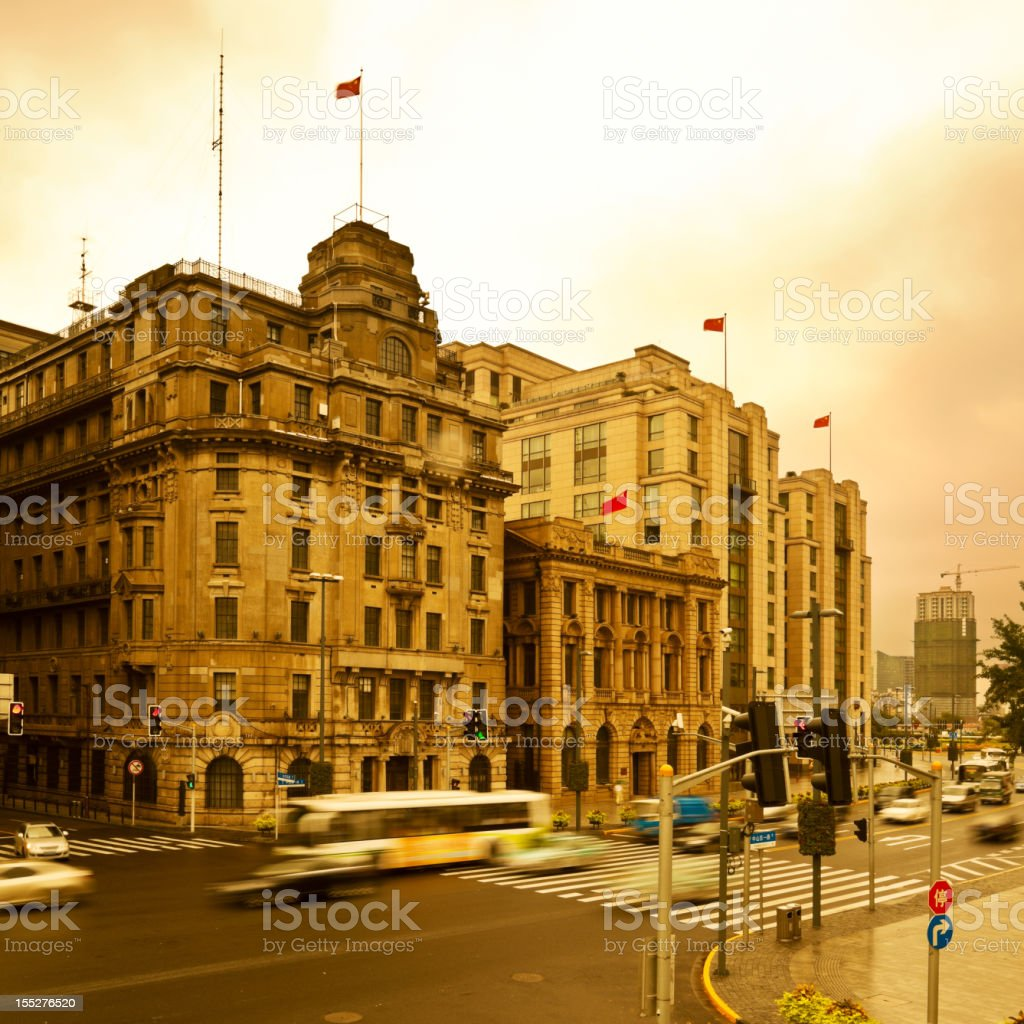 Cityscape of shanghai, china royalty-free stock photo