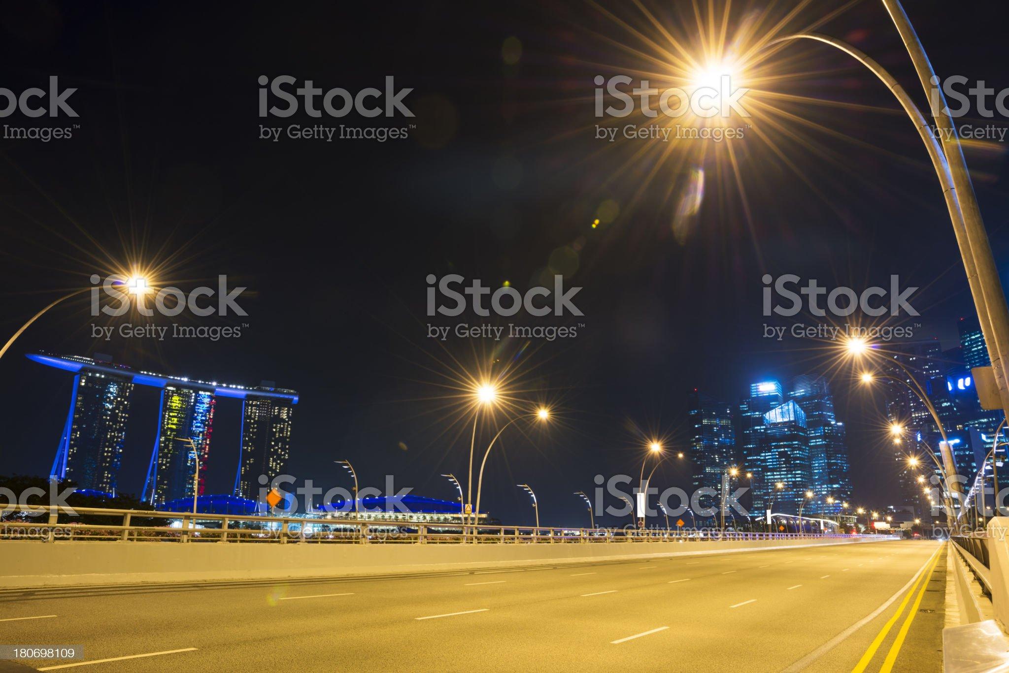 cityscape of singapore royalty-free stock photo