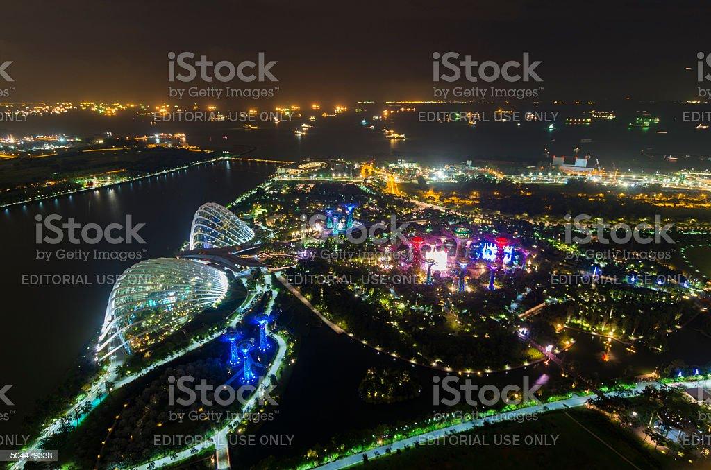Cityscape of Singapore stock photo