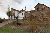 Cityscape of street  of Granada, Spain