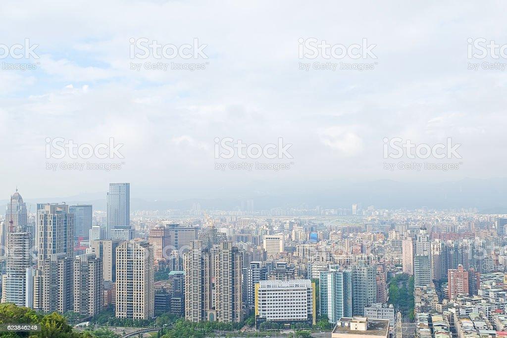 cityscape of taipei ,Taiwan stock photo