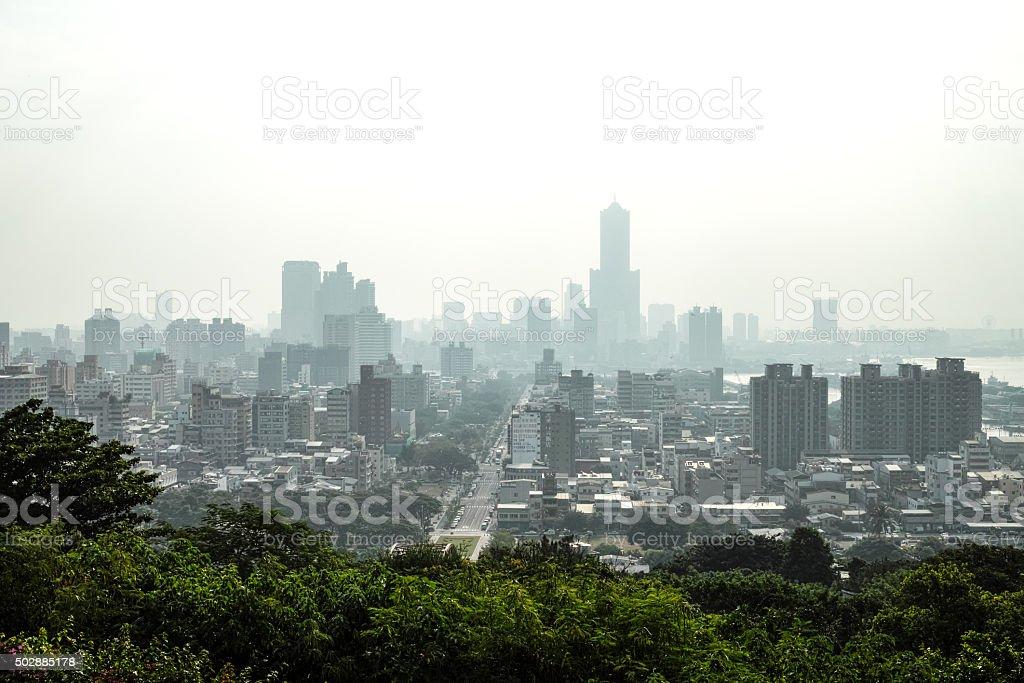 Ville de Taiwan, Tainan, Takao photo libre de droits