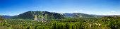 Cityscape Panoramic of Aspen, Colorado