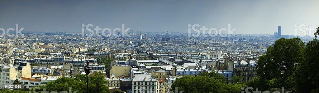 Cityscape, Paris, France royalty-free stock photo