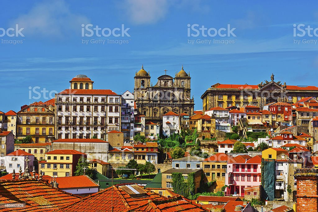 Cityscape stock photo