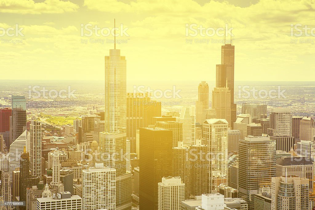 Cityscape stock photo