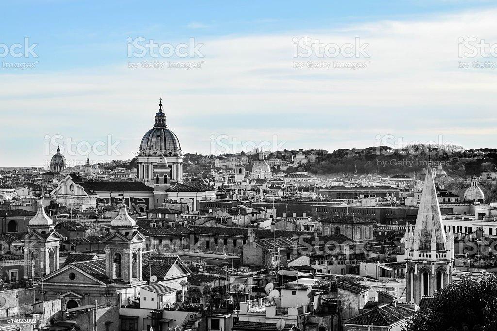 Cityscape Rome Italy stock photo