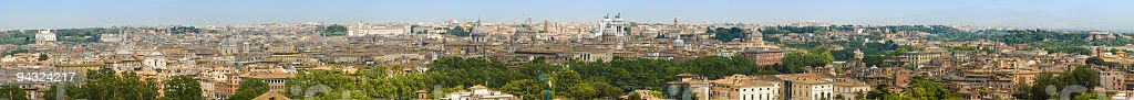 Cityscape, Rome royalty-free stock photo