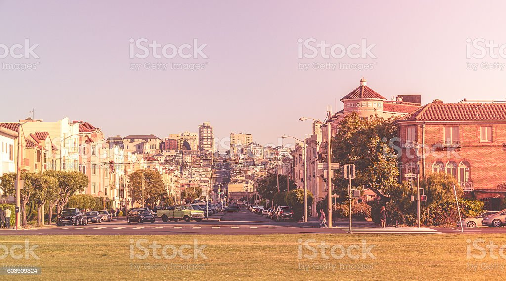 Cityscape - San Francisco, California, USA stock photo