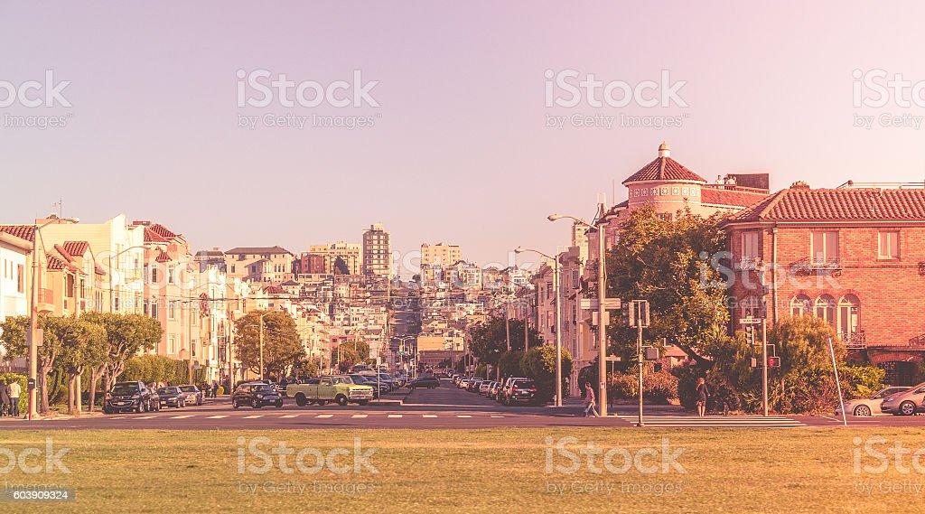 Cityscape - San Francisco, California, USA stock photo