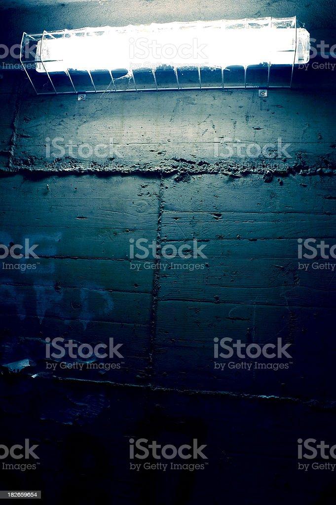 Cityscape underground detail stock photo