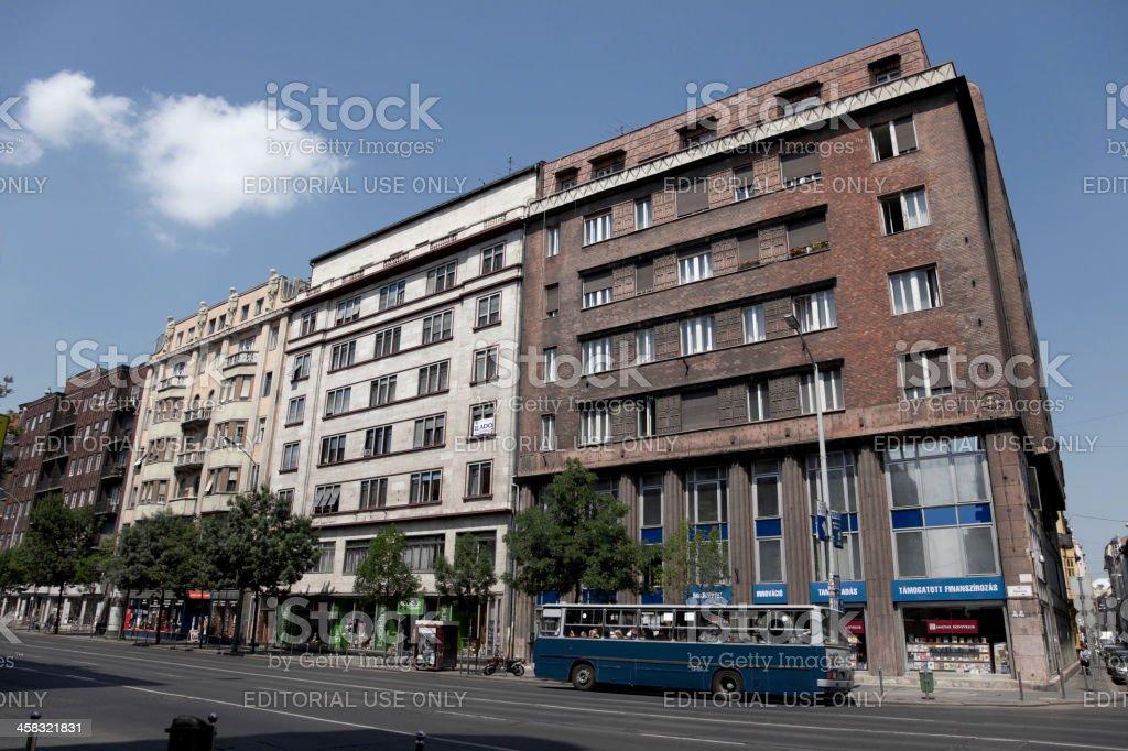 cityview of Budapest Hungary royalty-free stock photo