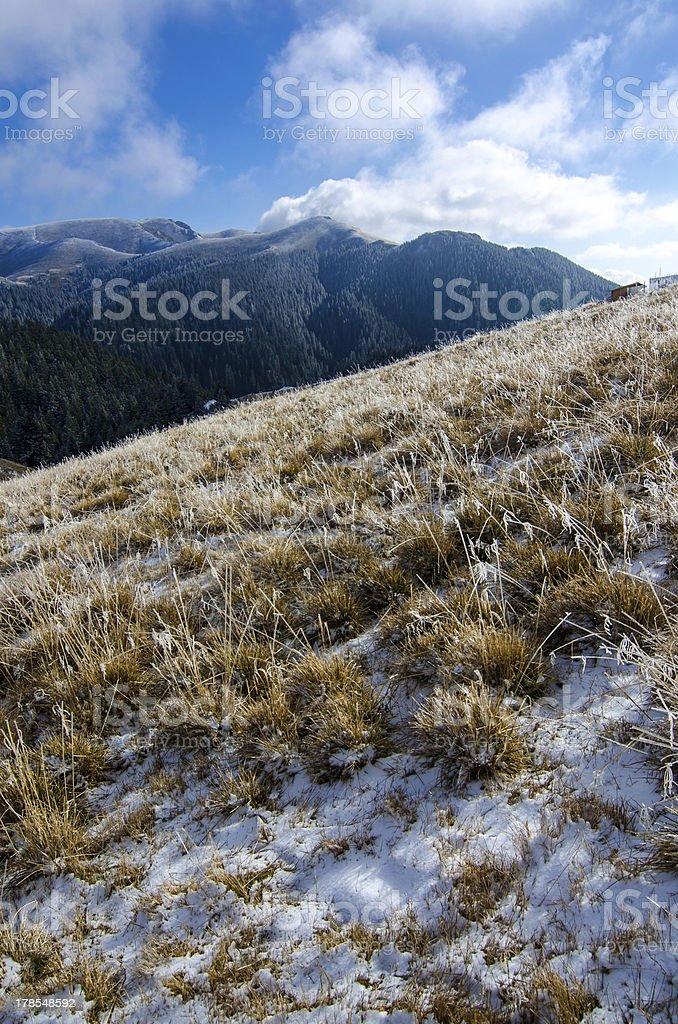 Ciucas mountain royalty-free stock photo