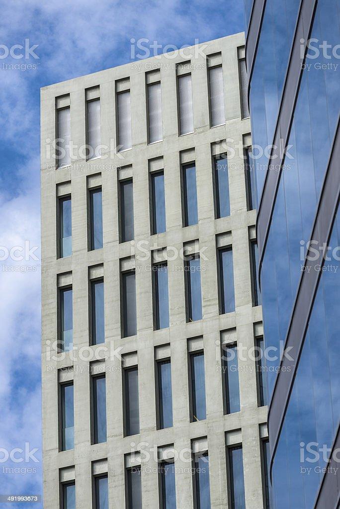 Ciutat de la Justicia, Barcelona. stock photo