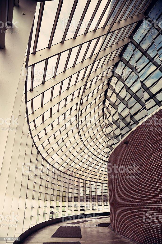 Civic Center stock photo