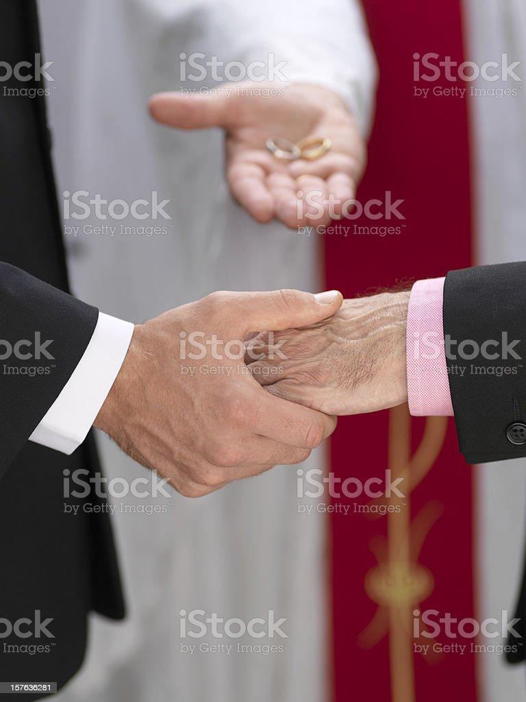 Civil Partnership royalty-free stock photo