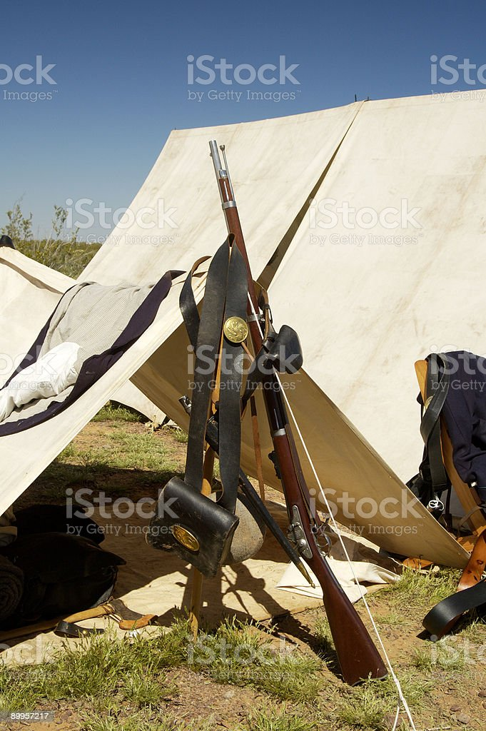 Civil War Armament 4 royalty-free stock photo