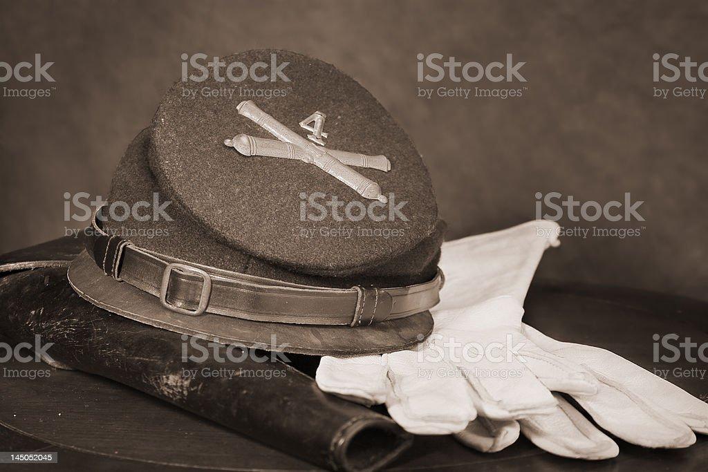 Civil War Attire stock photo