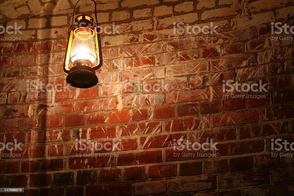 Civil War Lantern royalty-free stock photo