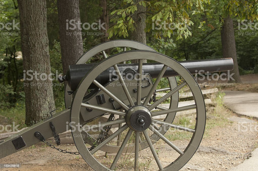 Civil War Weapons royalty-free stock photo
