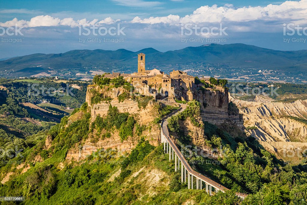 Civita di Bagnoregio, Lazio, Italy stock photo