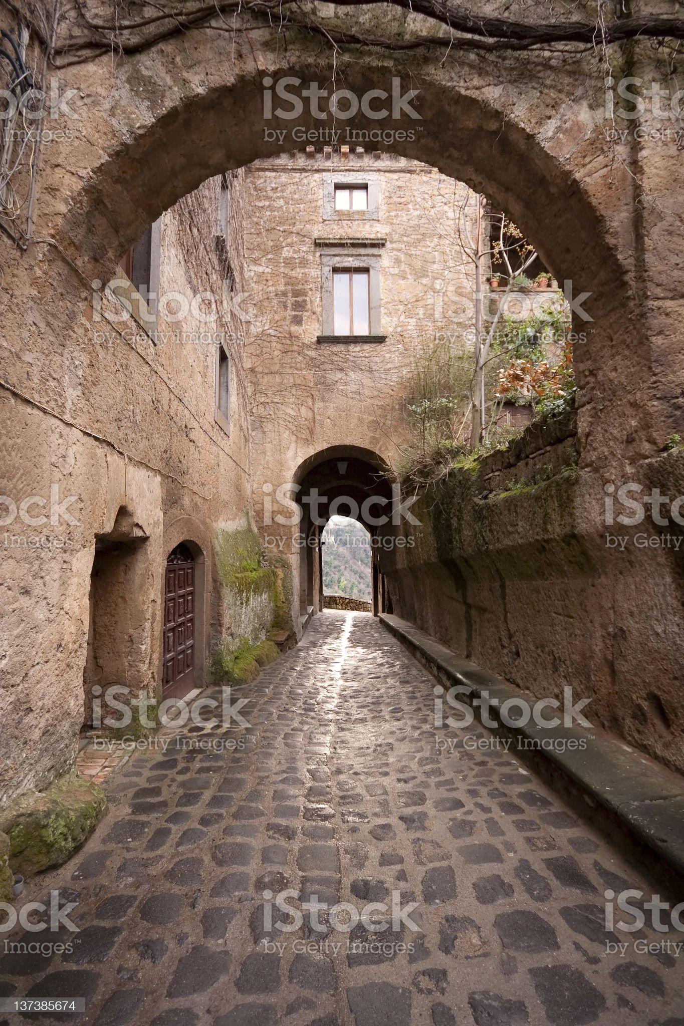 Civita di Bagnoregio royalty-free stock photo