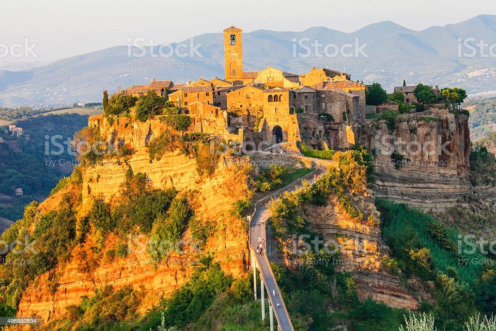 Civita Di Bagnoregio,Lazio,Italy stock photo