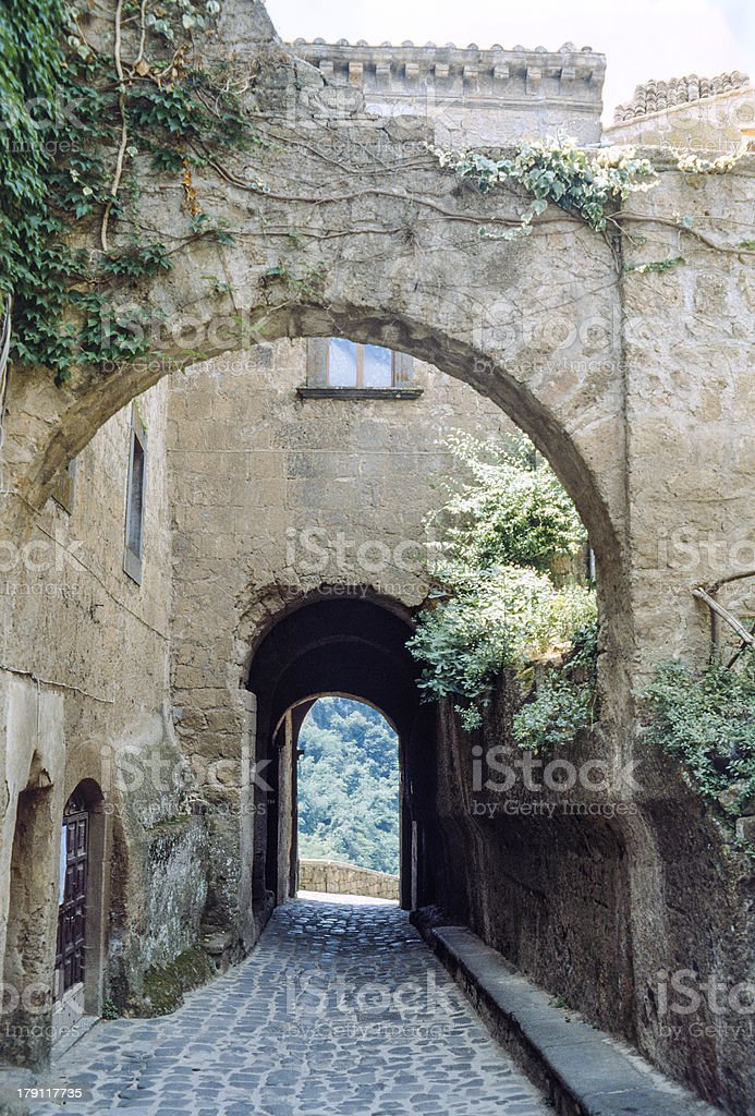 Civita di Bagnoregio royalty-free stock photo
