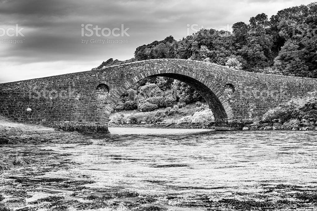 Clachan Bridge, stock photo