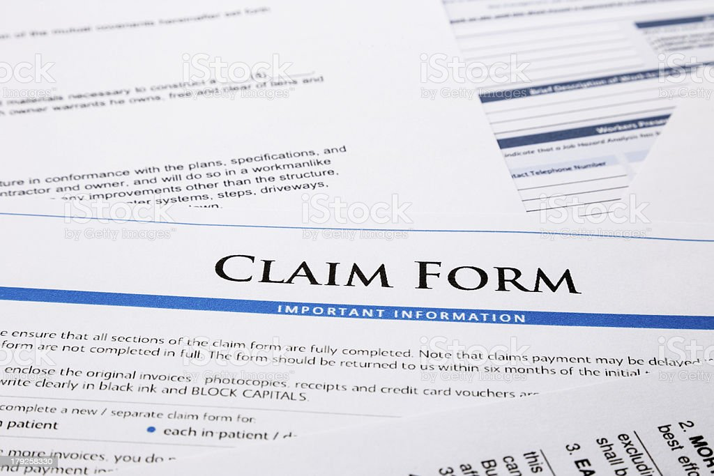 Claim Form Pictures, Images And Stock Photos - Istock