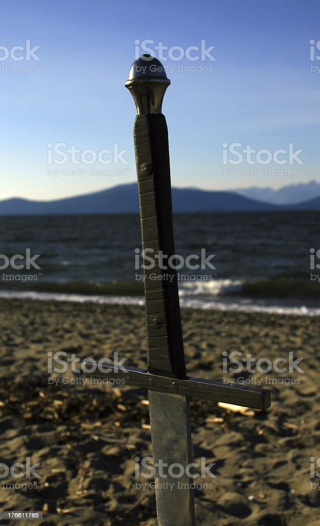 Claim the Land royalty-free stock photo