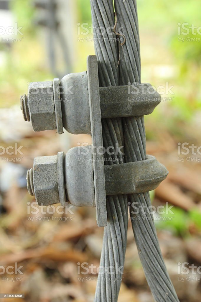Clamp stock photo