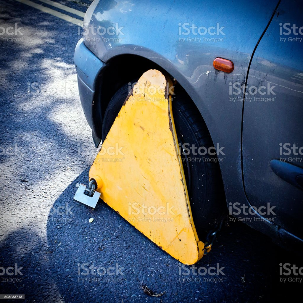 Clamped royalty-free stock photo
