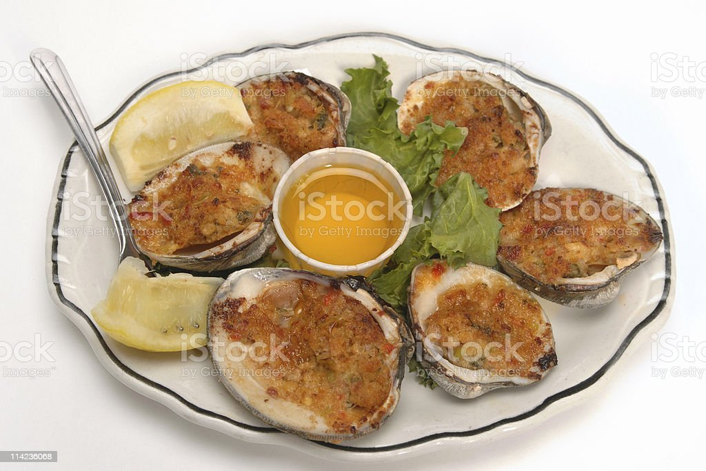Clams Casino stock photo